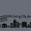 2016 Cost of City Government Report