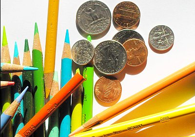 Pencils and Money